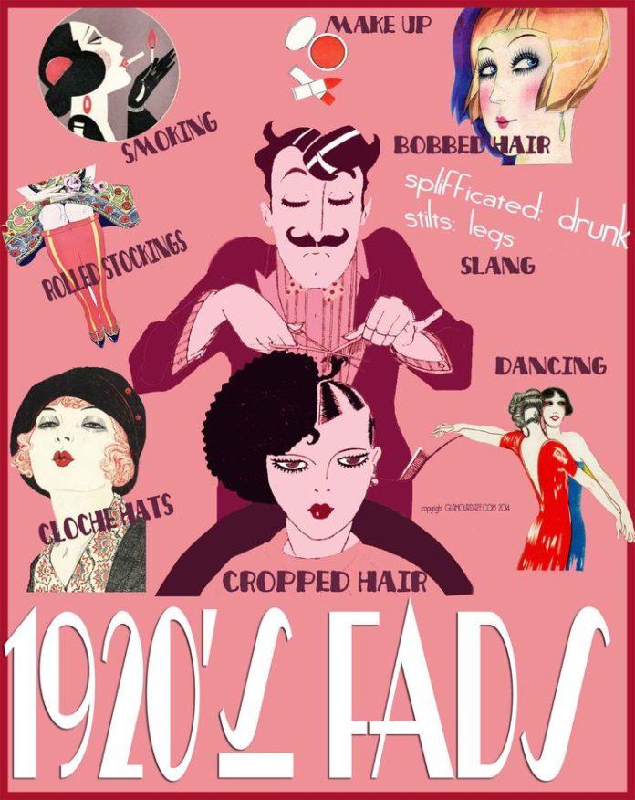 Fashion Infographic Downton Abbey Era 1920s Fashion Popular Fads Of 1920s Fashion