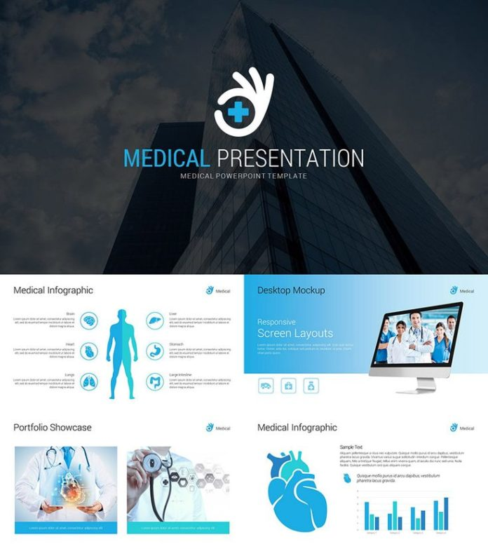 Medical infographic business powerpoint template business medical infographic wajeb