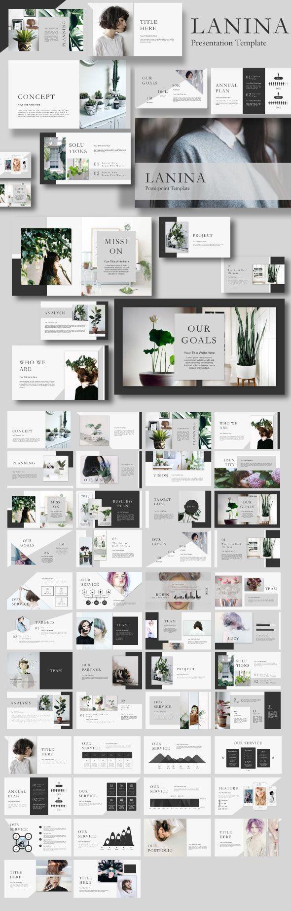 Business infographic : Lalina Google Slide Template - Google