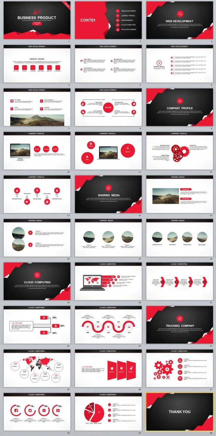 Business infographic : 30+ Creative business Product plan PowerPoint
