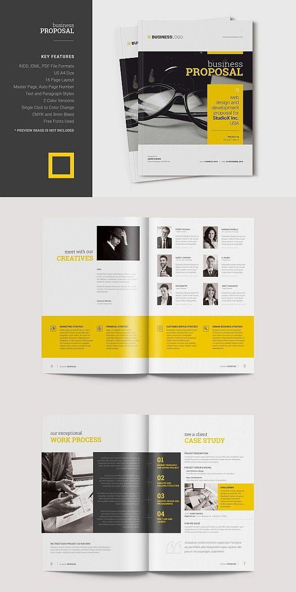 Business infographic : modern brochure design pdf corporate