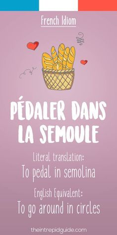 Educational infographic : 25 Funny French Idioms Translated