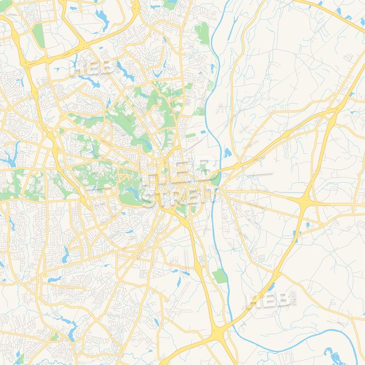 Travel infographic - Empty vector map of Fayetteville, North ...