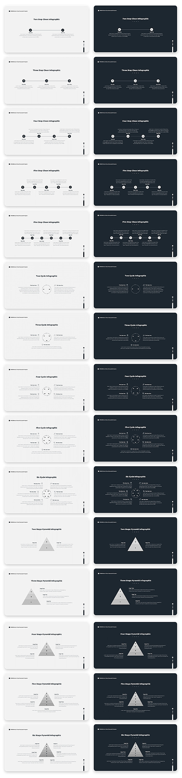 Wind Minimal & Clean Powerpoint With Text Animation Pack - 13