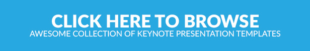 Awesome Collection of Keynote Presentation Templates