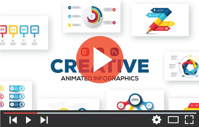 Creative Animated Infographic Presentations v.1.2 - 2