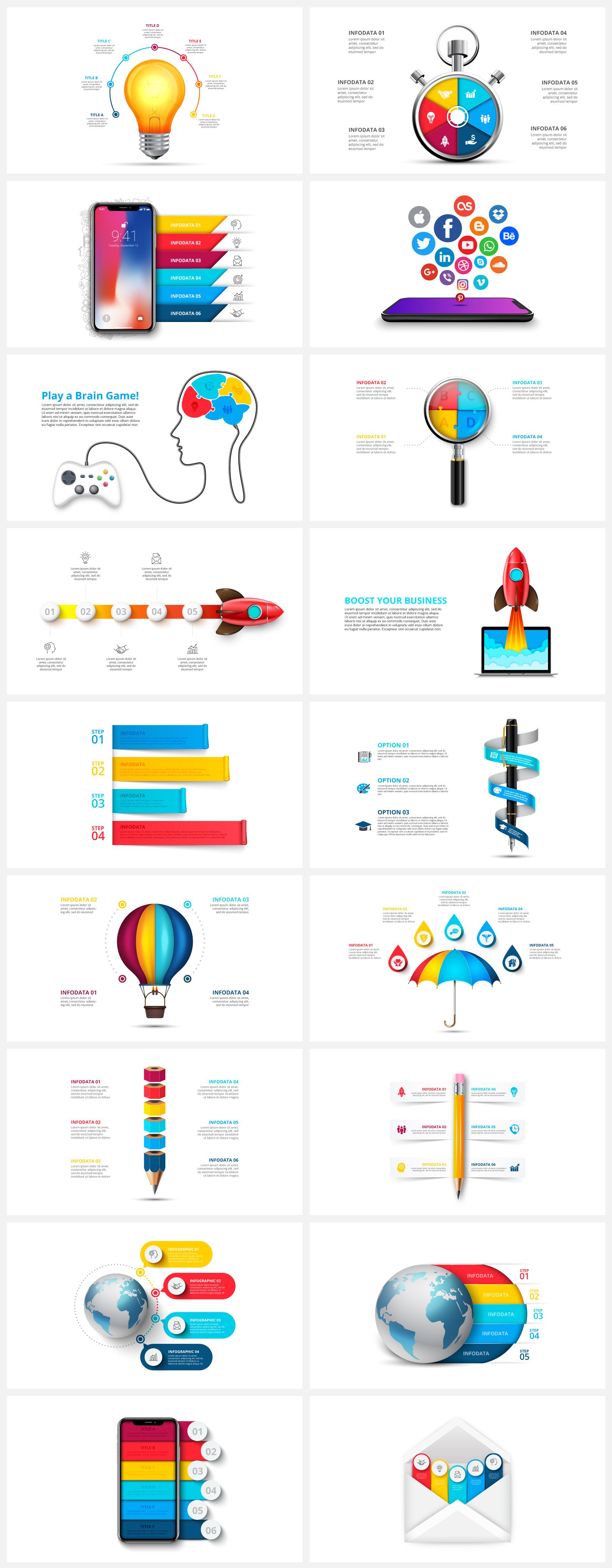 Creative Animated Infographic Presentations v.1.2 - 6