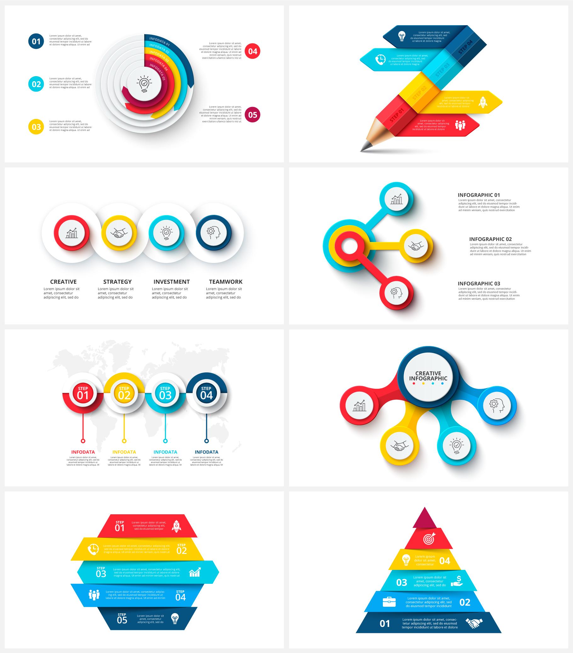 Creative Animated Infographic Presentations v.1.2 - 8