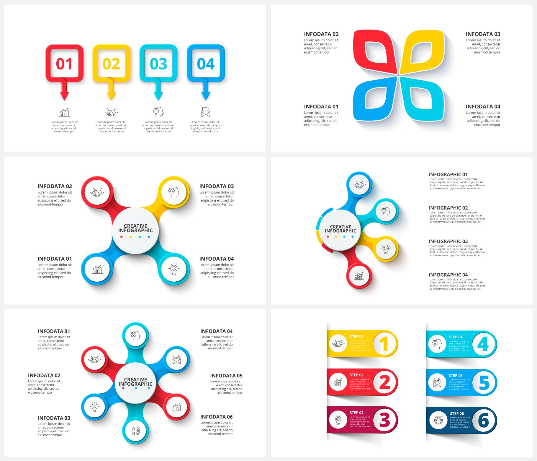 Creative Animated Infographic Presentations v.1.2 - 12