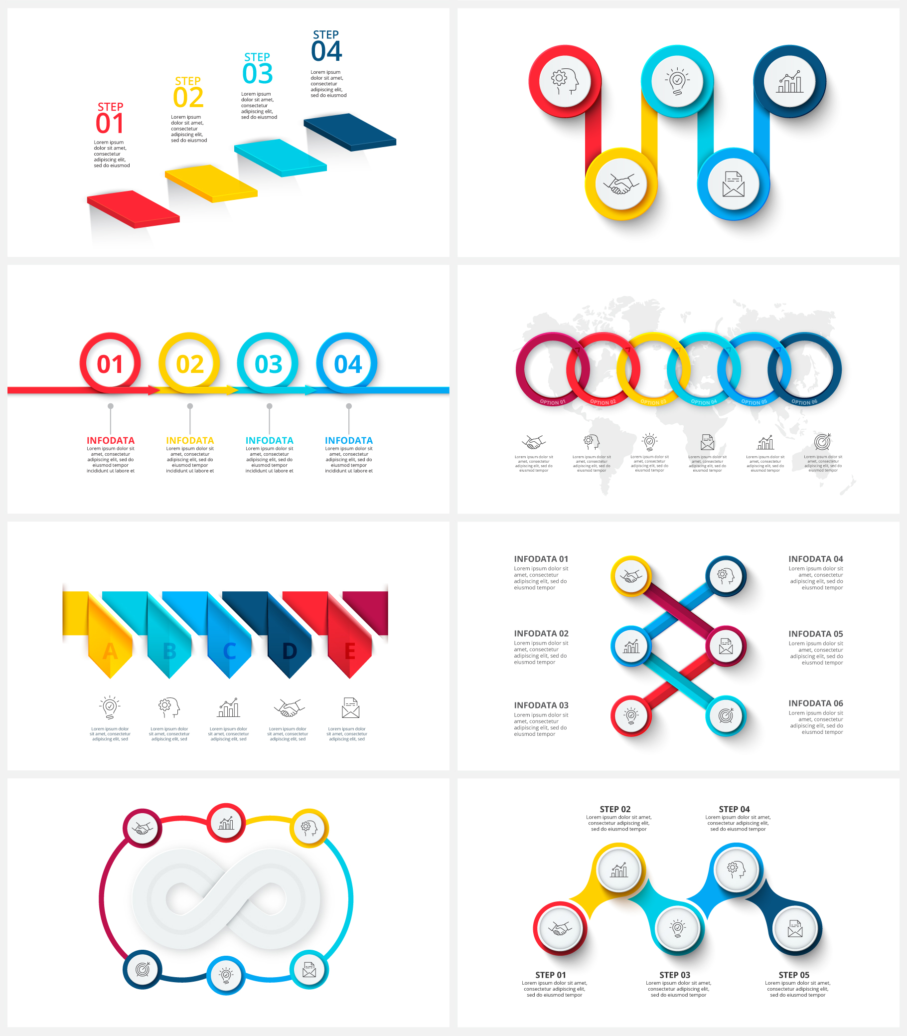 Creative Animated Infographic Presentations v.1.2 - 14