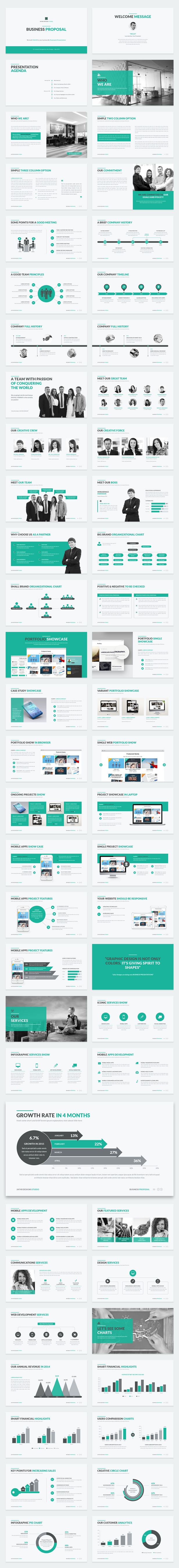 Business Proposal PowerPoint Template - 1