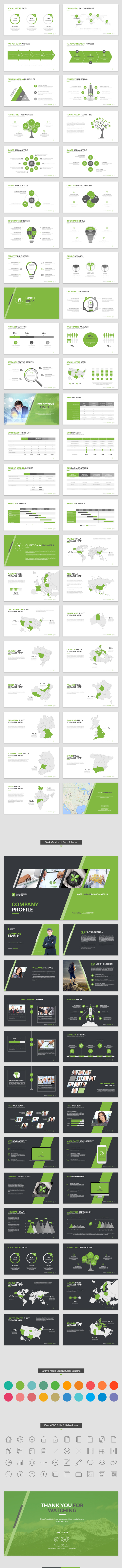 Company Profile PowerPoint Template - 1