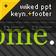 Wiked Template With Footer - 5