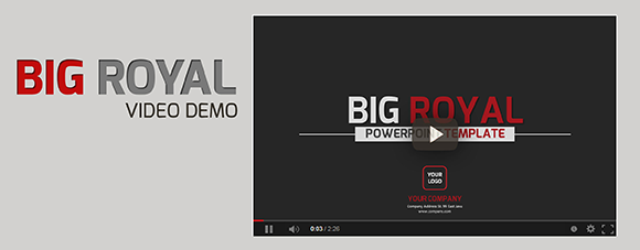 Big Royal PowerPoint Template - 1