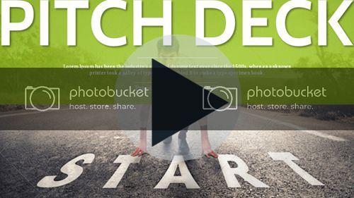 Pitch Deck Start Up Expert Presentation Template - 1