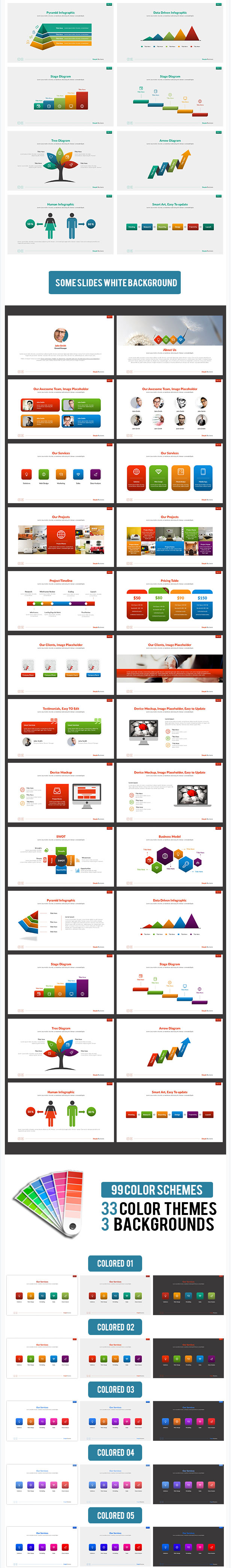 Best Simple Business PowerPoint Presentation Template