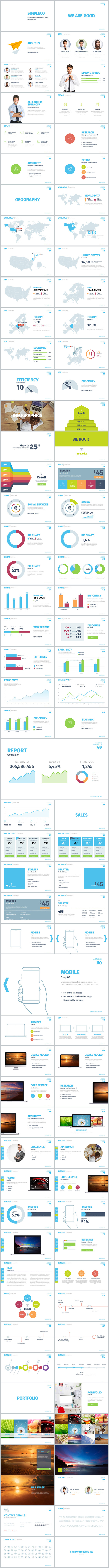 Simpleco: Minimalistic Business Powerpoint Template - 3