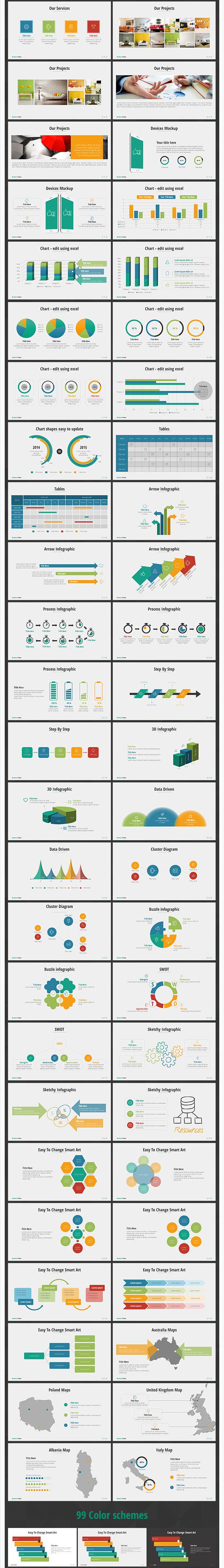 Best Business Power PowerPoint Presentation Template