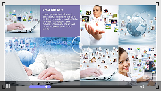 Portfolio PowerPoint Template - 1