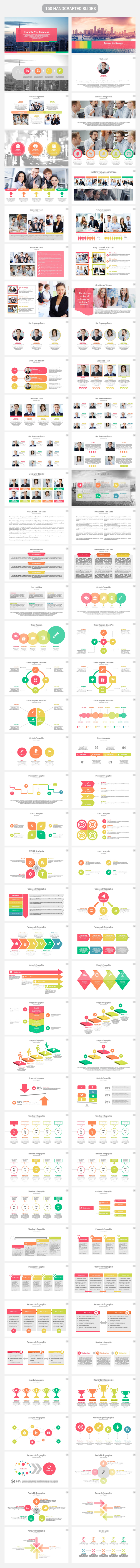 BizMax PowerPoint Presentation Template - 1