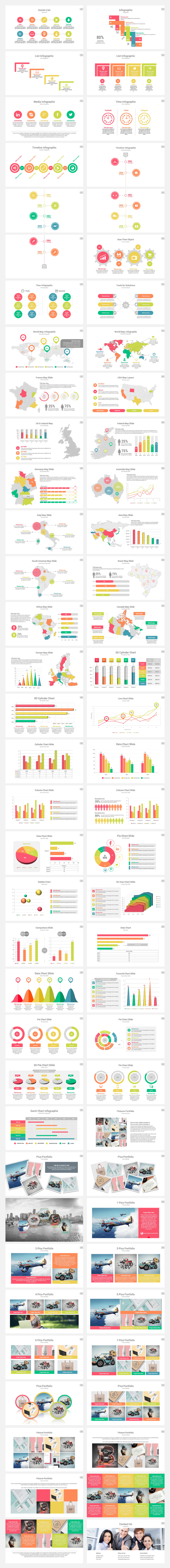 BizMax PowerPoint Presentation Template - 2