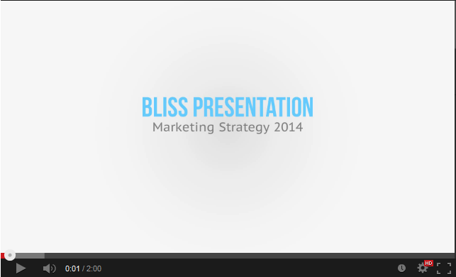 Bliss Presentation Template - 1