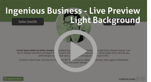 Ingenious Business PowerPoint Presentation - 1
