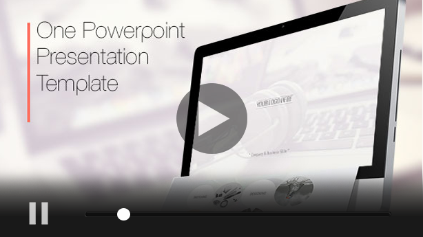One Power Point Presentation Template - 1