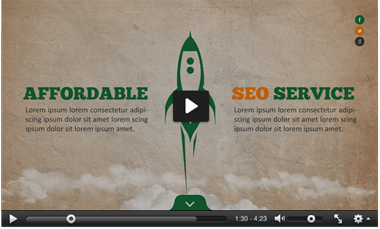 SEO Services Powerpoint Template - 1