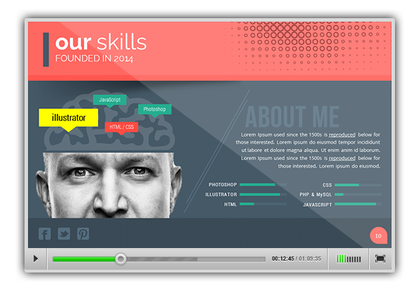 Top - Multipurpose Presentation Template - 1